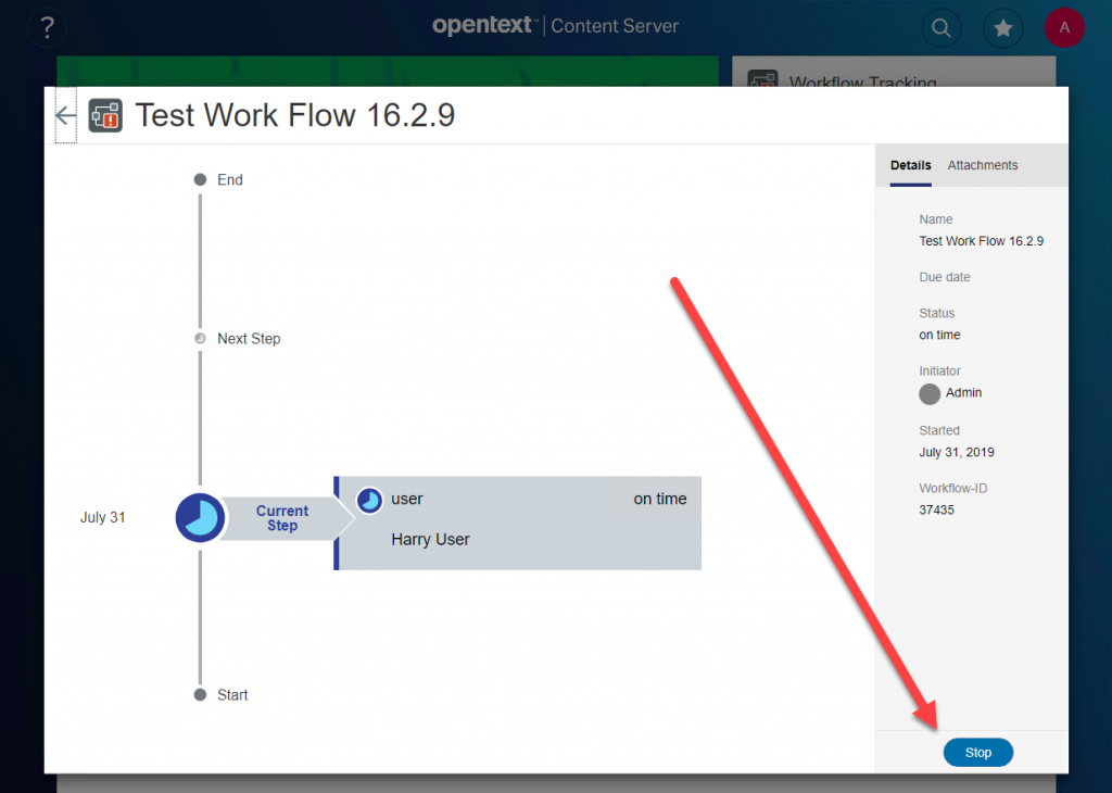Details of the Test Work Flow 16.2.9