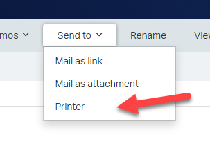 The new print command